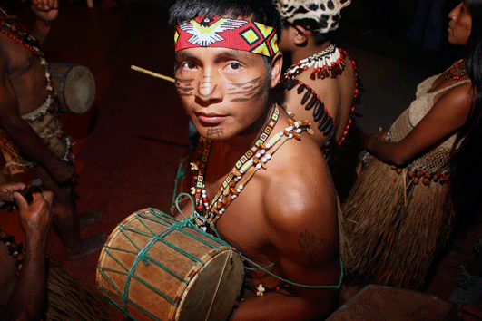 Native drummer