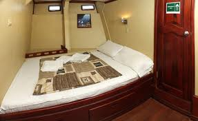 Xavier double bed cabin