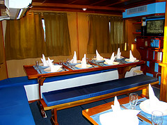 King of the Seas Dining area