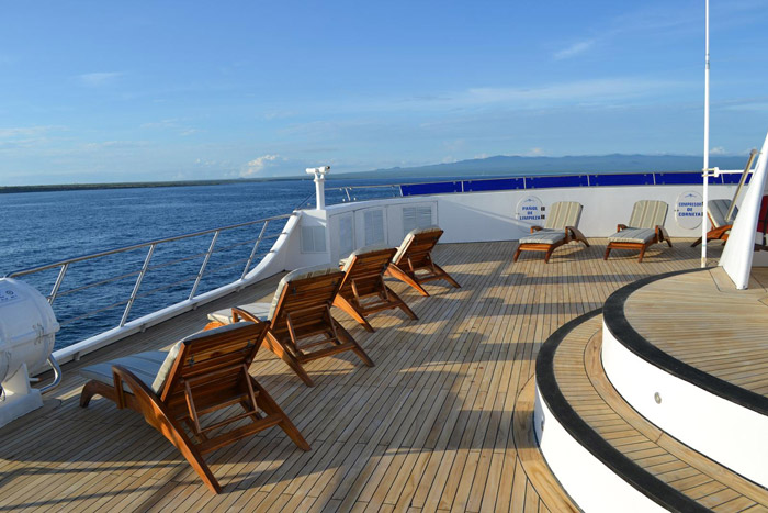Sun deck Ocean Spray